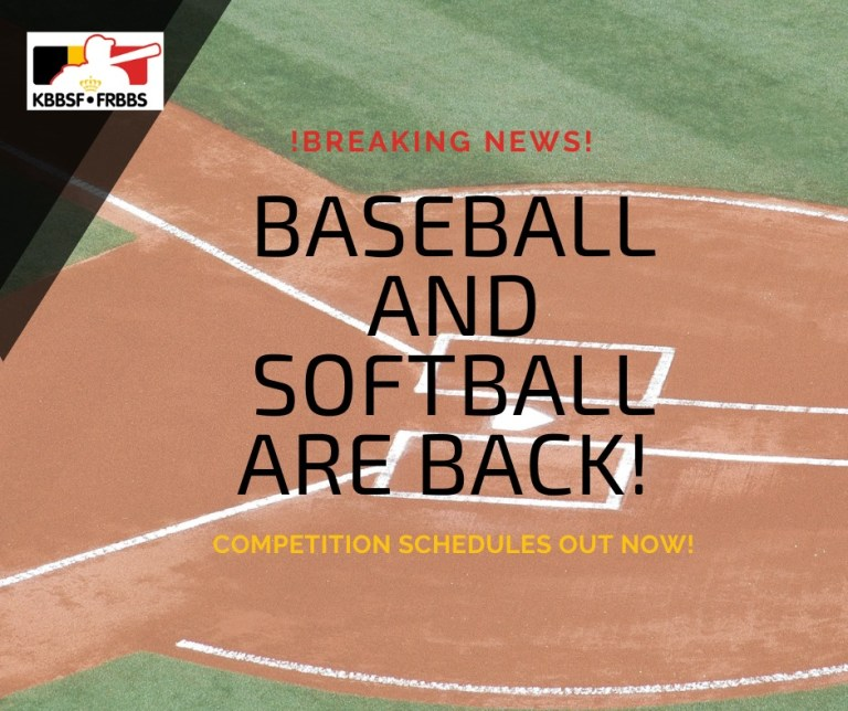 Baseball and Softball schedules are finally upon us