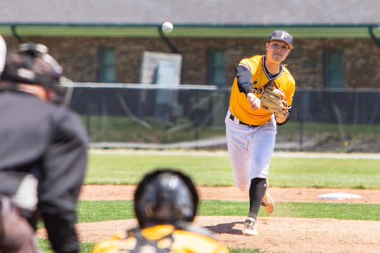 Drew Janssen just pitched a near-perfect game in College playoffs