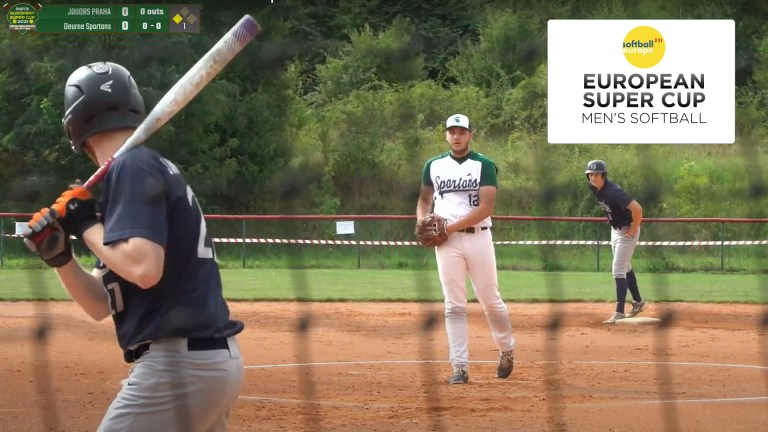 Spartans and Pioneers this week in Mens' Softball European Super Cup
