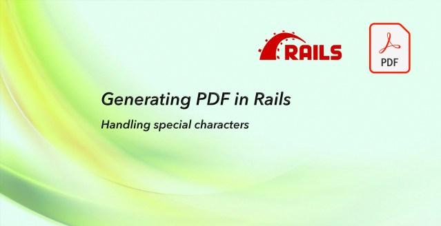 Generating PDF in Rails