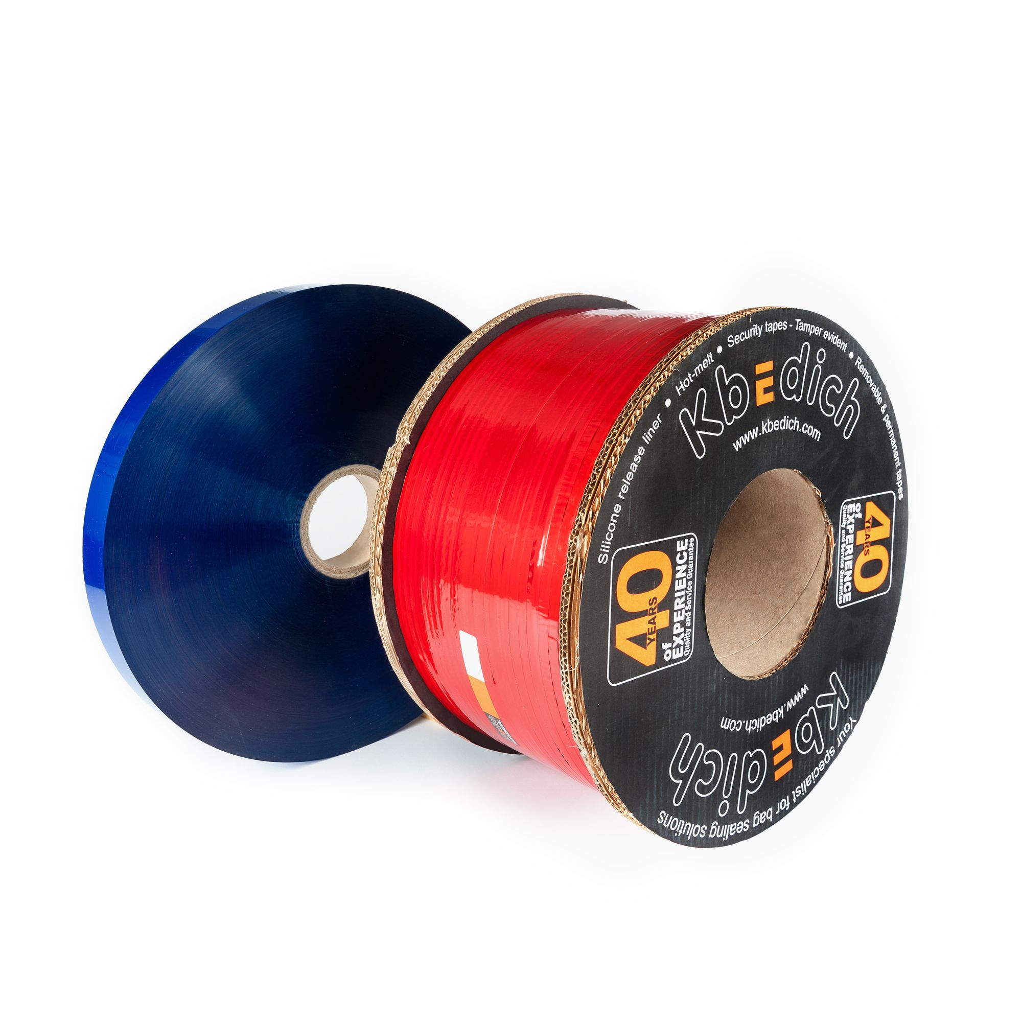 Security tapes - Tamper evident - Certified by Applus - Permanent tape closures - Permanent tape closures - Hotmelt adhesive - Hotmelt adhesive - The security tape company - Reseleable tape Closures - Film transfer - Silicone release liner - http://www.kbedich.com - Cintas de cierre no permanente - Tamper Evident - Adhesivo hotmelt - protectores siliconados - Cintas de seguridad - Film transfers - Cintas de cierre no permanente - Adhesivo hotmelt - http://www.kbedich.com