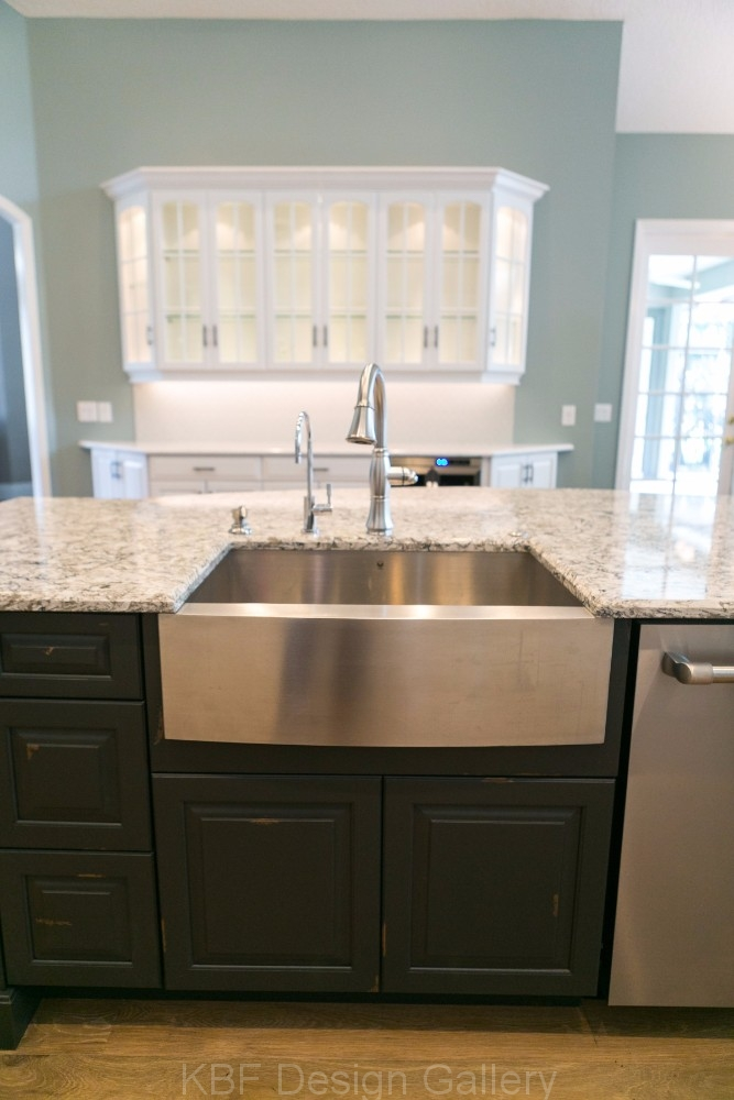 Painted Cabinet Kitchen Remodel KBF Design Gallery