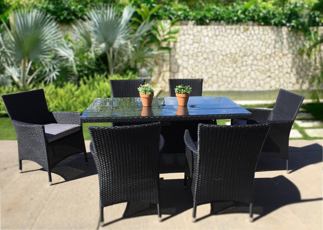 Modern Outdoor Furniture Set Dining Table Modern And