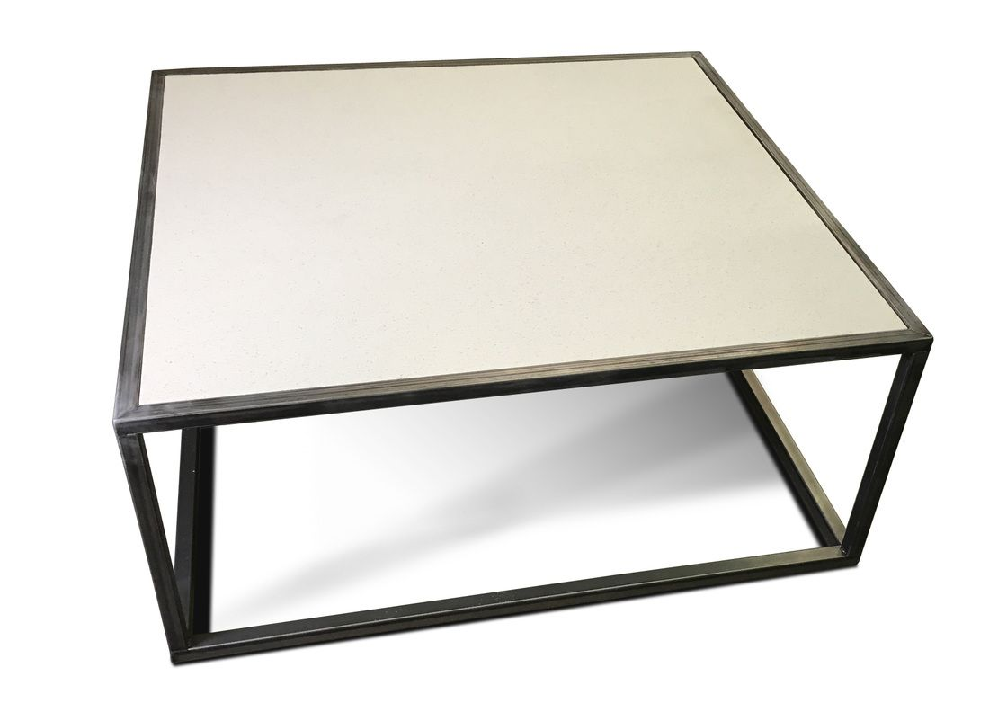 Quartz Top Coffee Table Modern And Industrial Furniture By Kb Furnishings