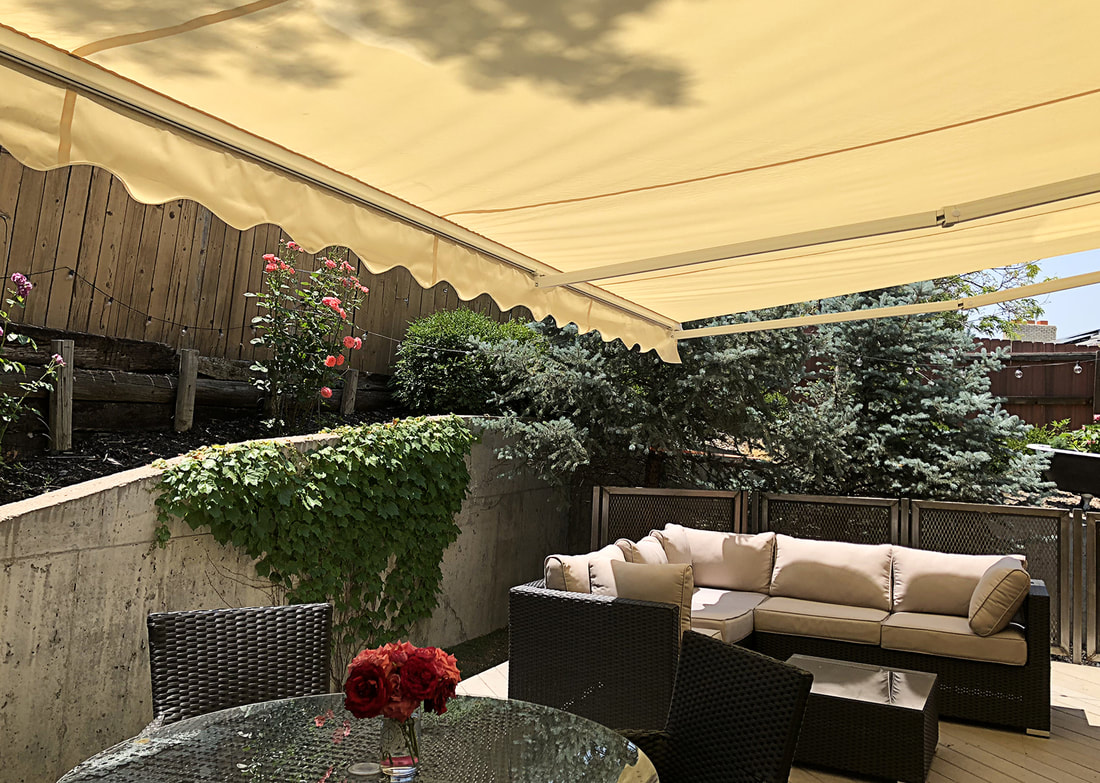 Motorized Retractable Patio Awning