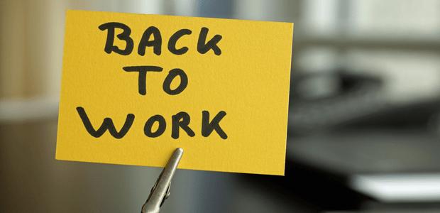 Résultats de recherche d'images pour «back to work»