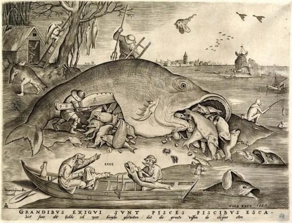 Big Fish Eat Little Fish: print