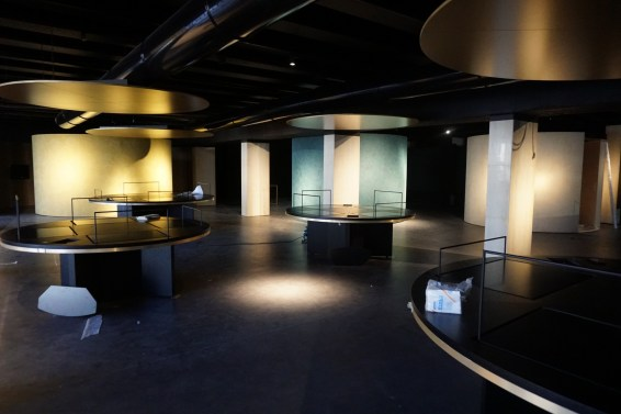 The museum zone (end of March)