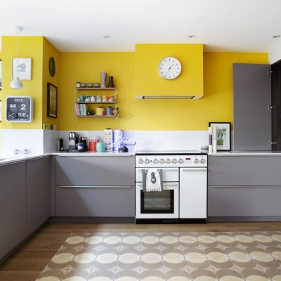 Bold And Colourful Kitchens KBSA