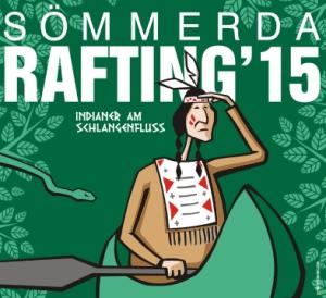 Plakat Sömmerda Rafting 2015