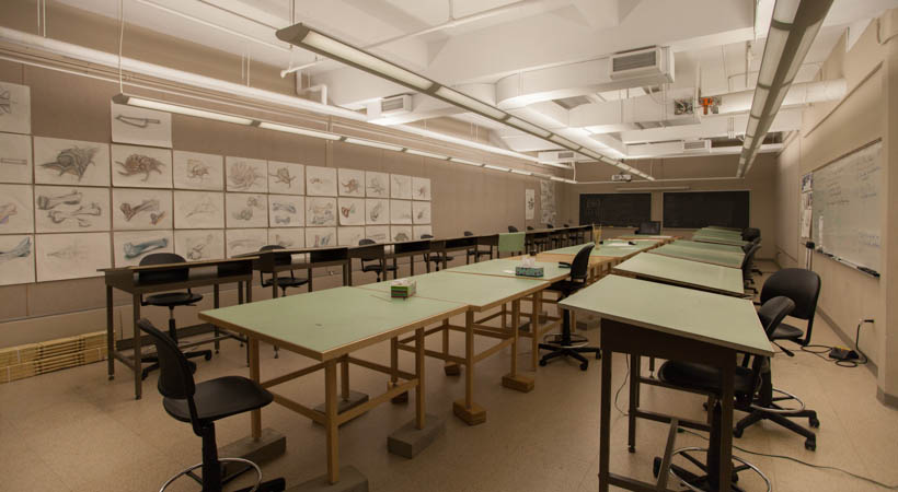 Design Drawing Classroom Kendall College Of Art And