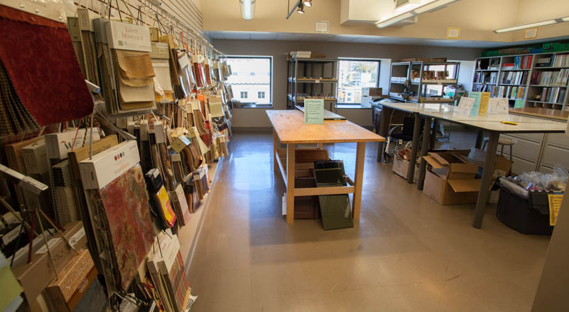 Interior Design Resource Room Kendall College Of Art And