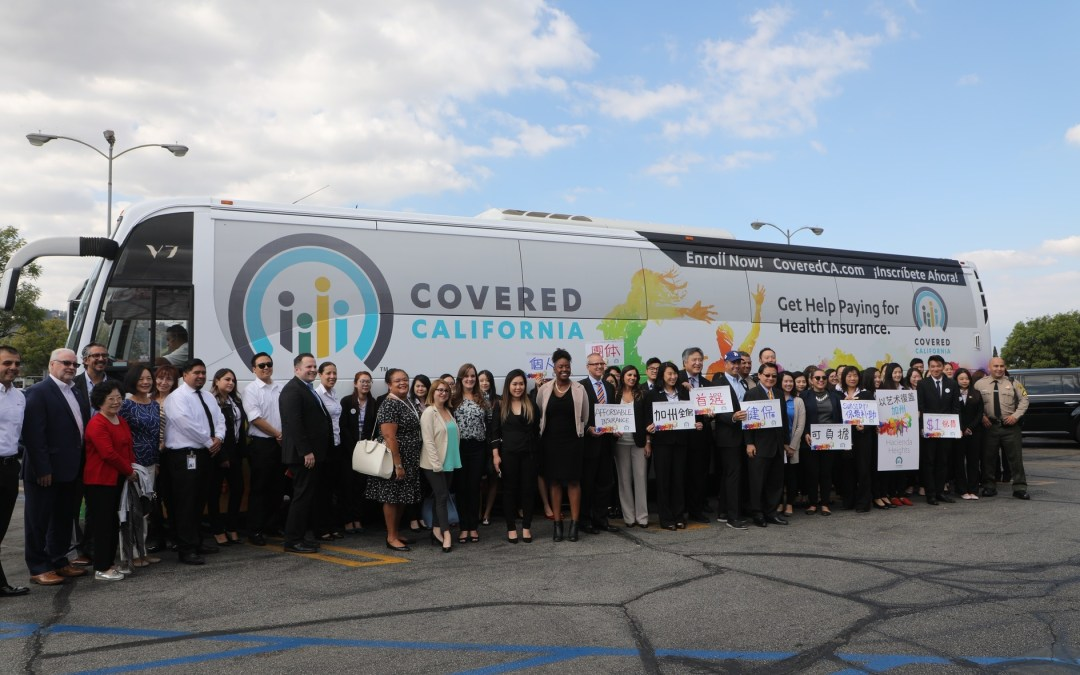 Covered California Bus Tour Makes A Stop at KCAL for 2018 Open Enrollment