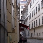 The legendary Blutgasse in the old town of Vienna