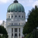 Church of Saint Charles Borromew in VIenna's Central Cemetery