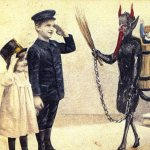 Krampus takes the bad and leaves the good