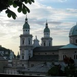 Salzburg Dom - View from the Stieglkeller Terrace