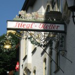 Entrance to Stiegl Keller Restaurant