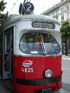 Vienna Ringstraße Tram Line 2