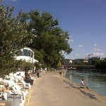 Tel Aviv Beach, Donaukanal, 2nd District, Beach Bar, Vienna