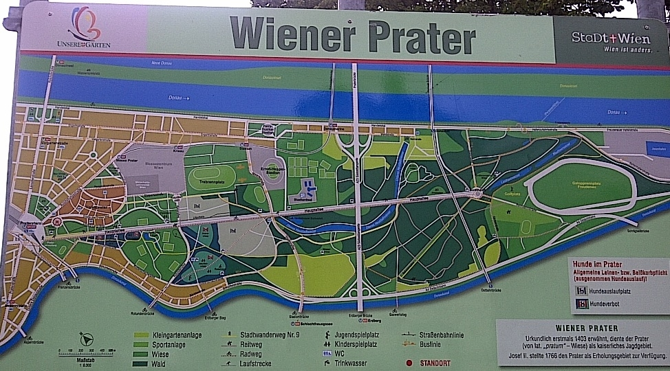 Viennese Prater Map