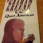 """The Quiet American"" book jacket"