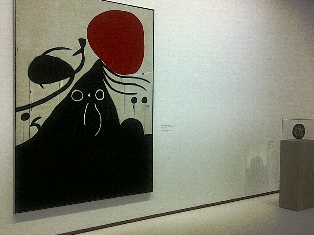 Miro Painting and Sculpture in Vienna Albertina's Exhibit