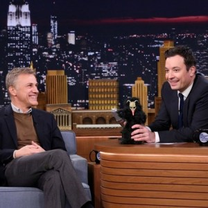 Christoph Waltz on Jimmy Fallon