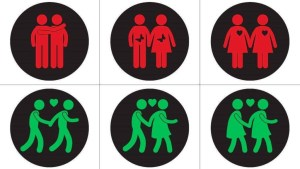 Vienna Green Party Traffic Light Signs