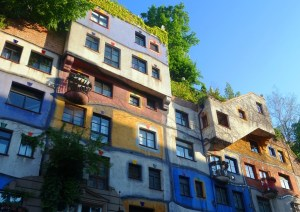 Hundertwasser housing in Vienna's 3rd district