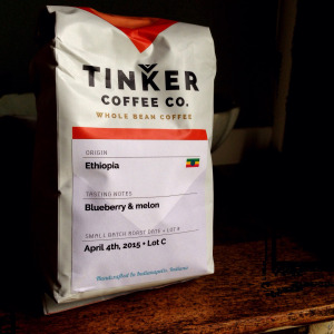 Tinker Coffee Co. – Ethiopia Natural Yirgacheffe Adado