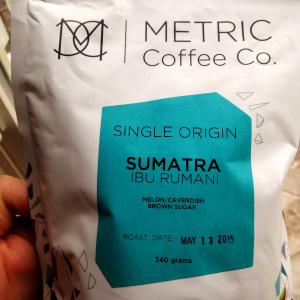 Metric Coffee Co. Sumatra Ibu Rumani