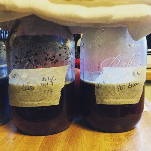 Experimenting with hot bloom and traditional cold brew