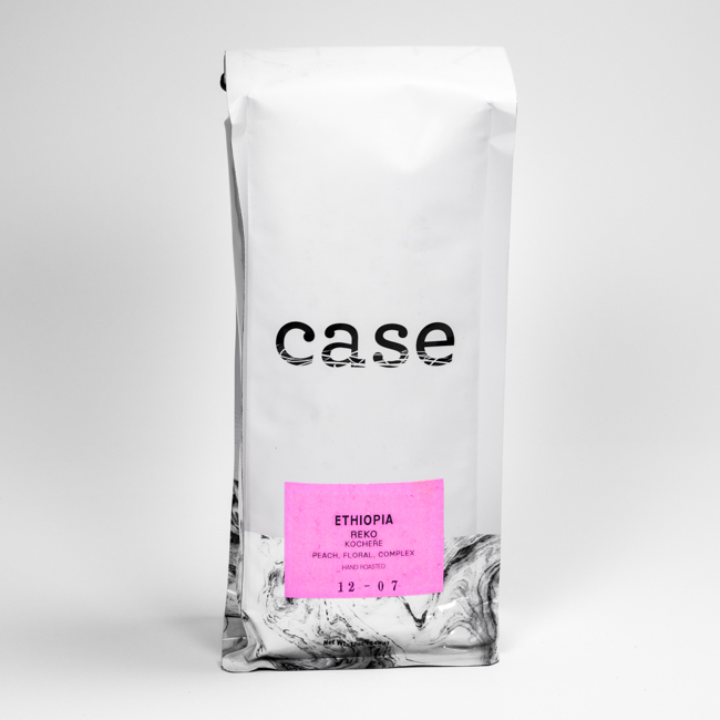 Case Coffee Roasters Ethiopia Reko