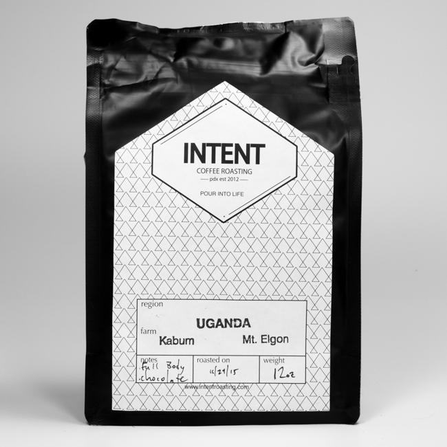 Intent Coffee Roasting Kabum Uganda Single Origin Espresso