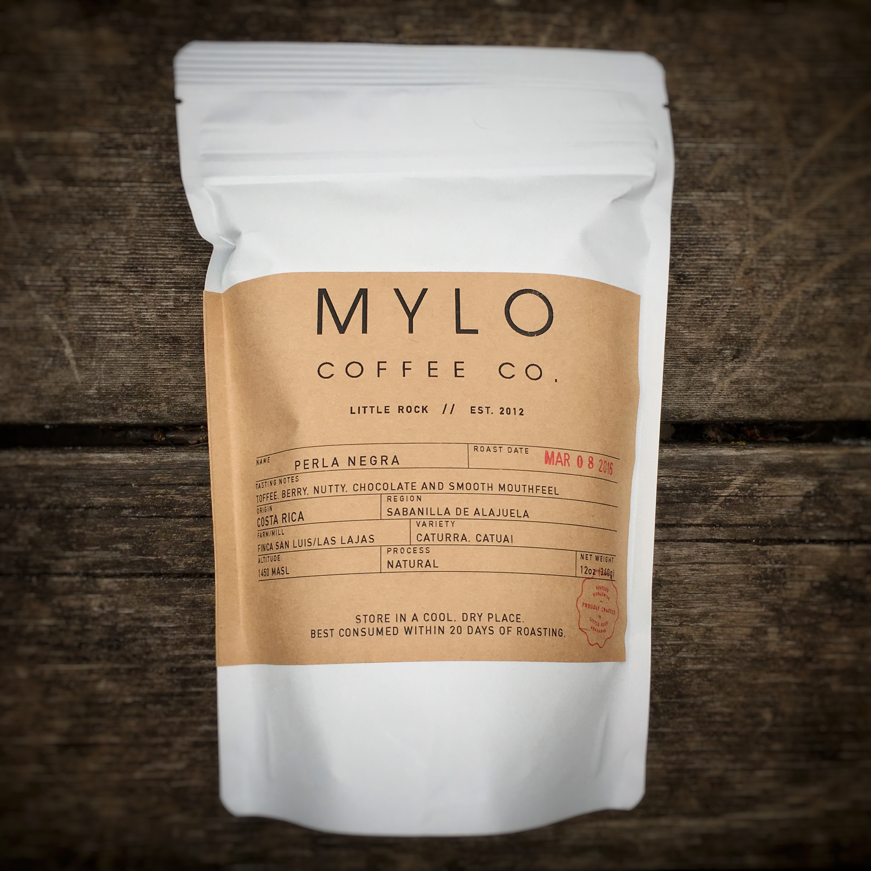 Mylo Coffee Co. Perla Negra Las Lajas