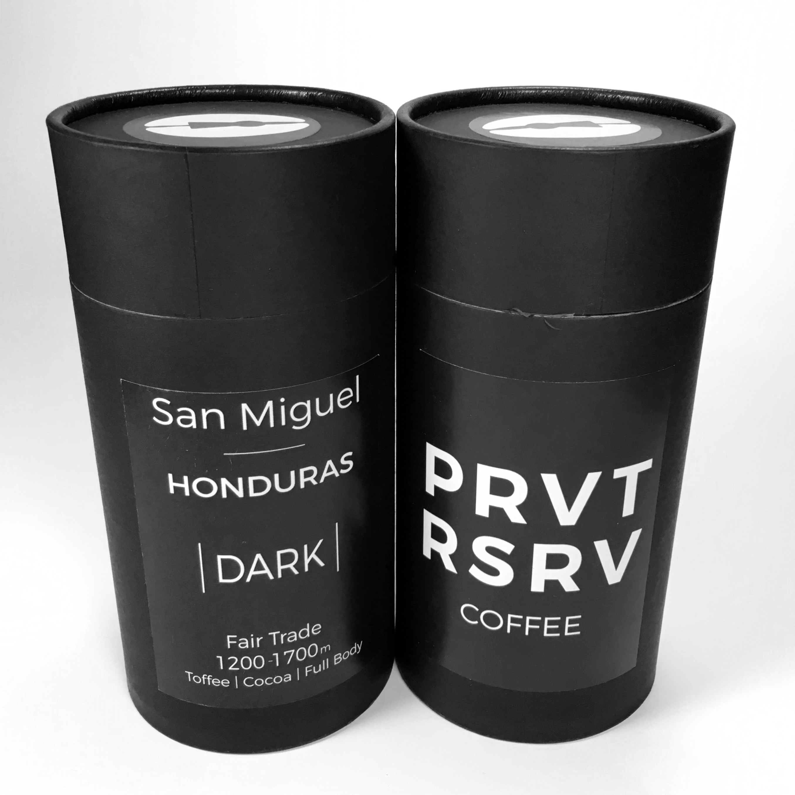 Private Reserve Coffee Honduras San Miguel Light and Dark