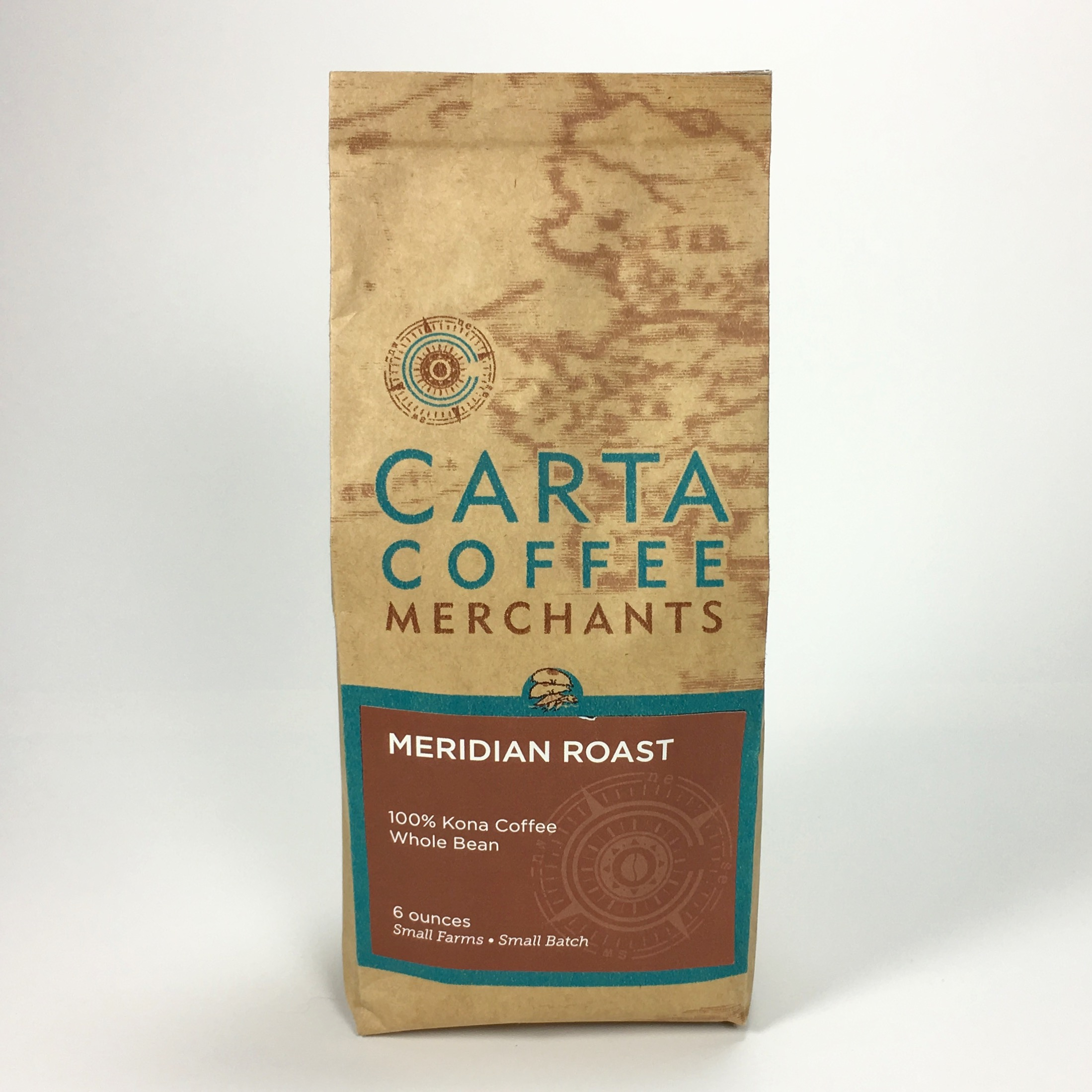Carta Coffee Merchants Meridian Roast (Light) 100% Kona