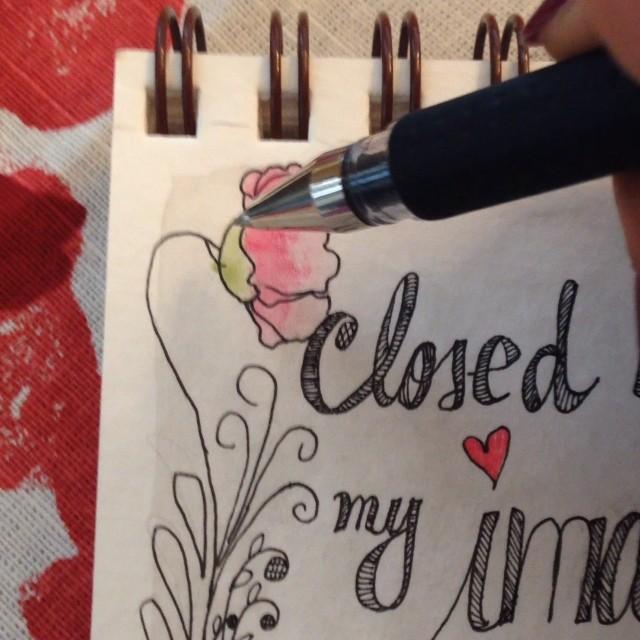 hearts and swirls