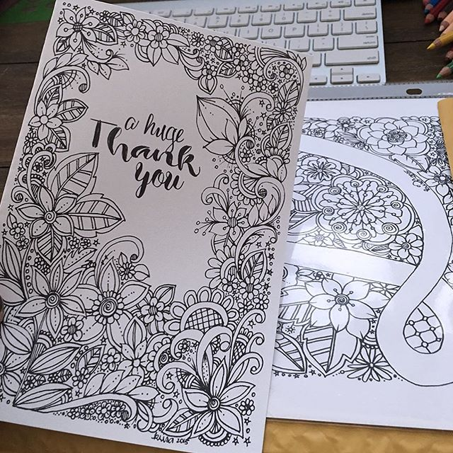 thank you doodle coloring pages - photo#23