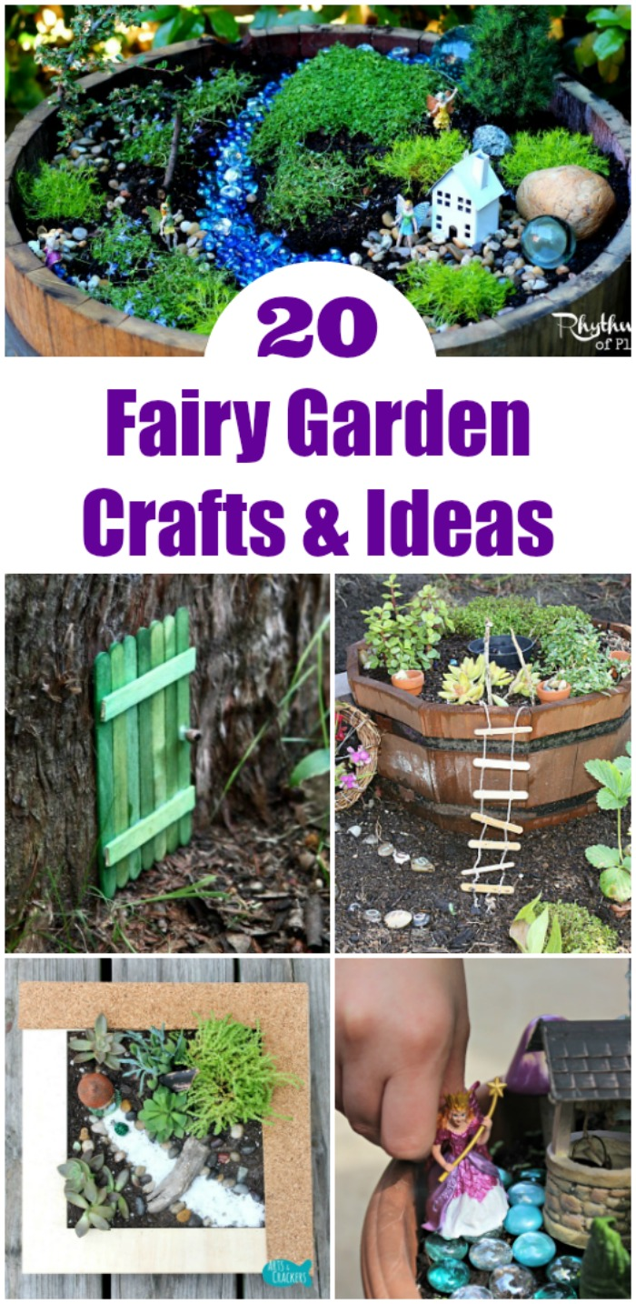 20 Outdoor Fairy Garden Ideas For Kids Edventures With Kids