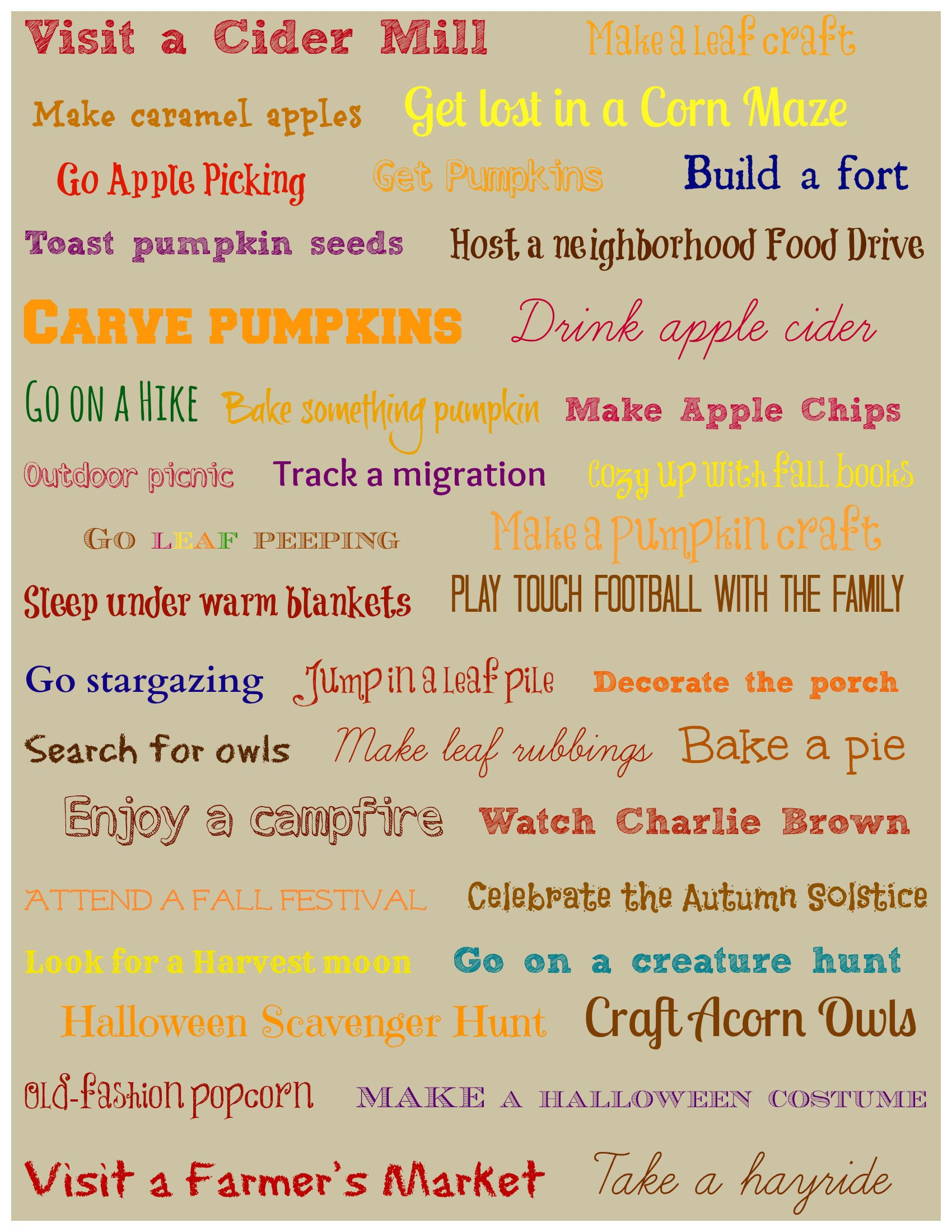 40 Fun Fall Activities For Your Family