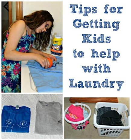 Tips for Getting Kids to Help with Laundry