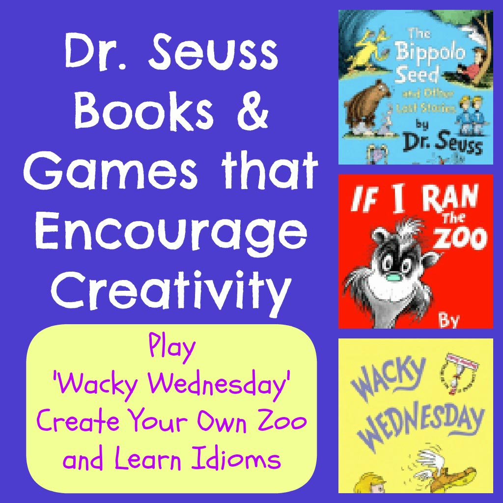 Dr Seuss Books And Games That Encourage Creativity