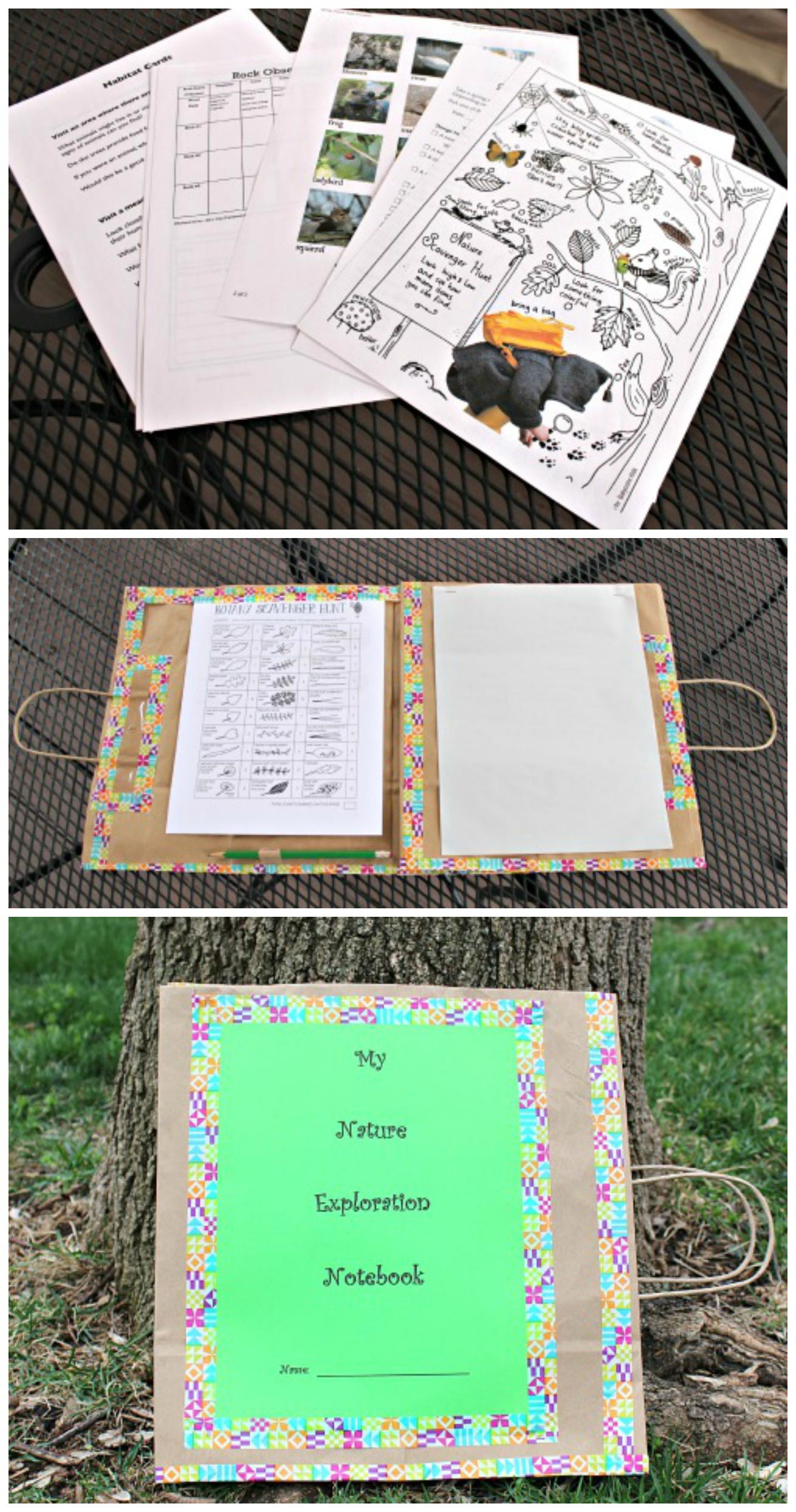 Diy Nature Journal With 70 Free Printable Activities