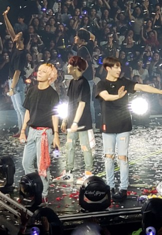 BTS - Jungkook Suga Tae Yoongi - 2018 Love Yourself Tour