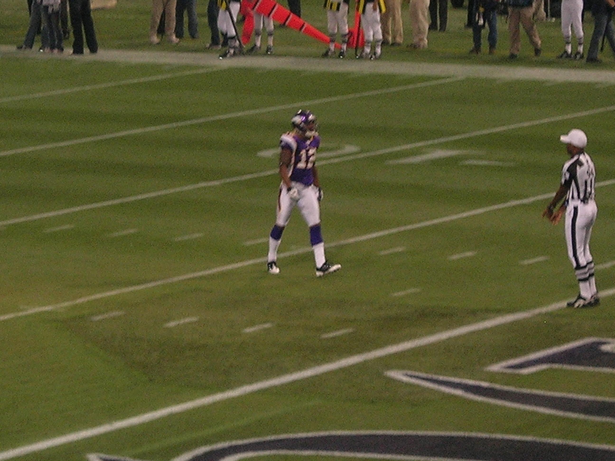 Minnesota Vikings Vs Baltimore Ravens Sunday October 18