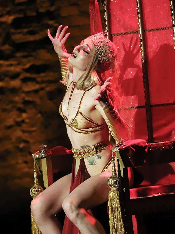 Joy Coy as the Iron Queen