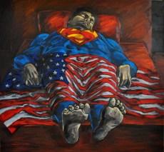 Mrtvi Supermen, 150x140cm,Ulje na platnu_resize