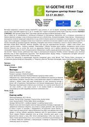 Goethe Fest KCNS 2017 - uvod i program-1
